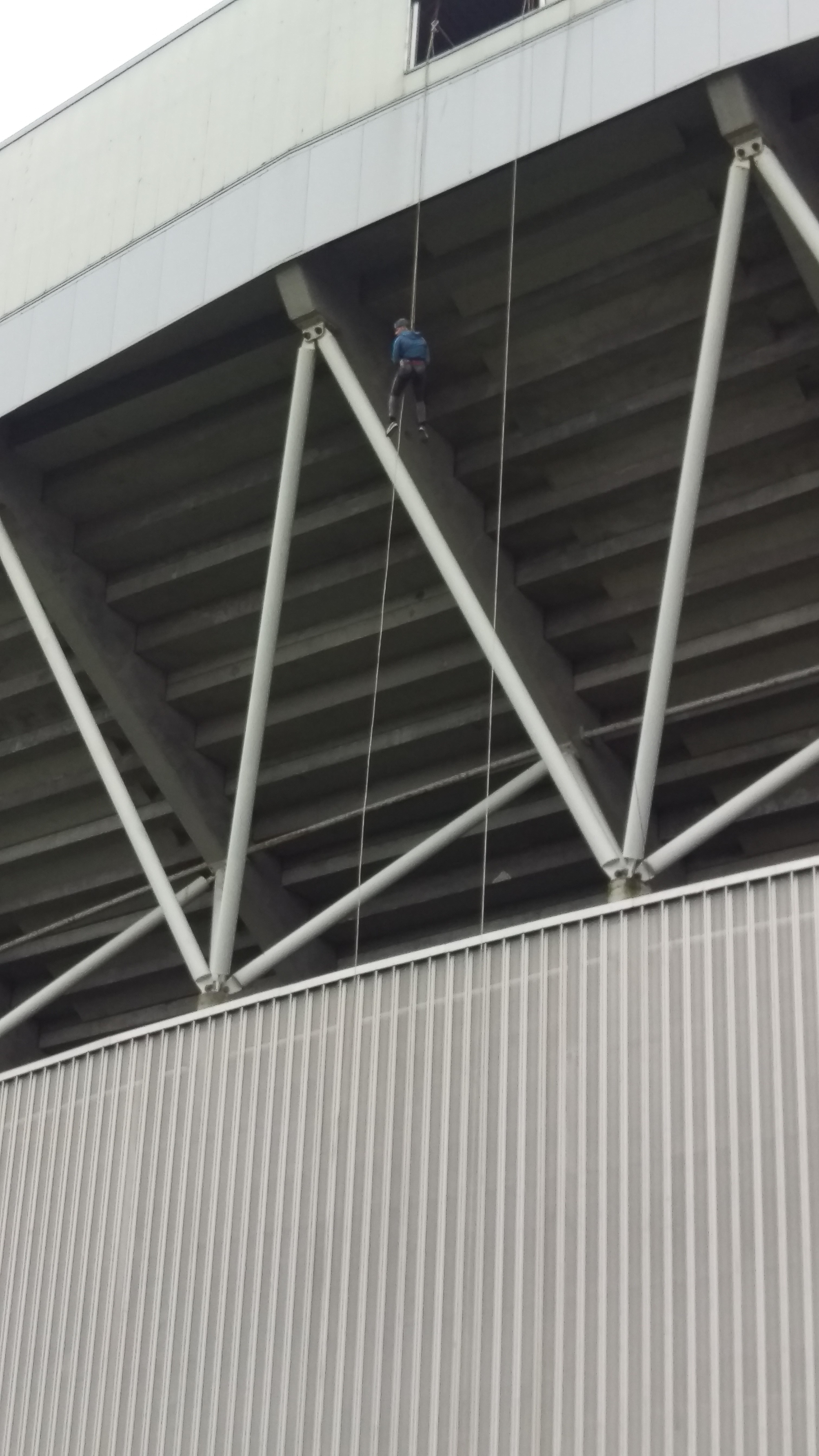 Abseil Thomond Park with Nevsail