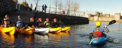 Kayaking Outdoor Activities at Nevsail Activity Centre