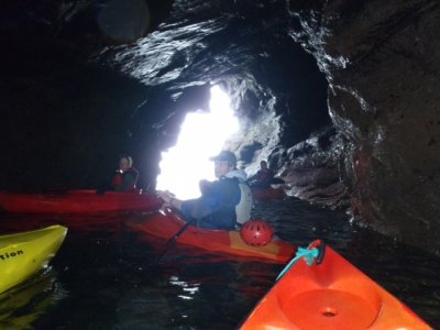At Nevsail Watersporta we run our Kayaking Clare Tours and Lessons from Kilkee Beach in Co.Clare.