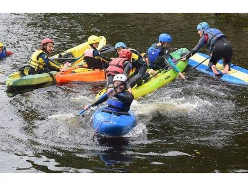 Kayaking in Limerick City with Nevsail Watersports voted No 1 fun things to do in Limerick
