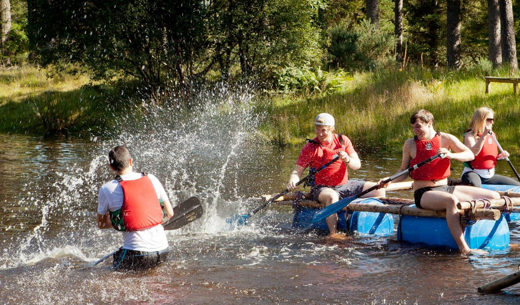 Raft Building Nevsail