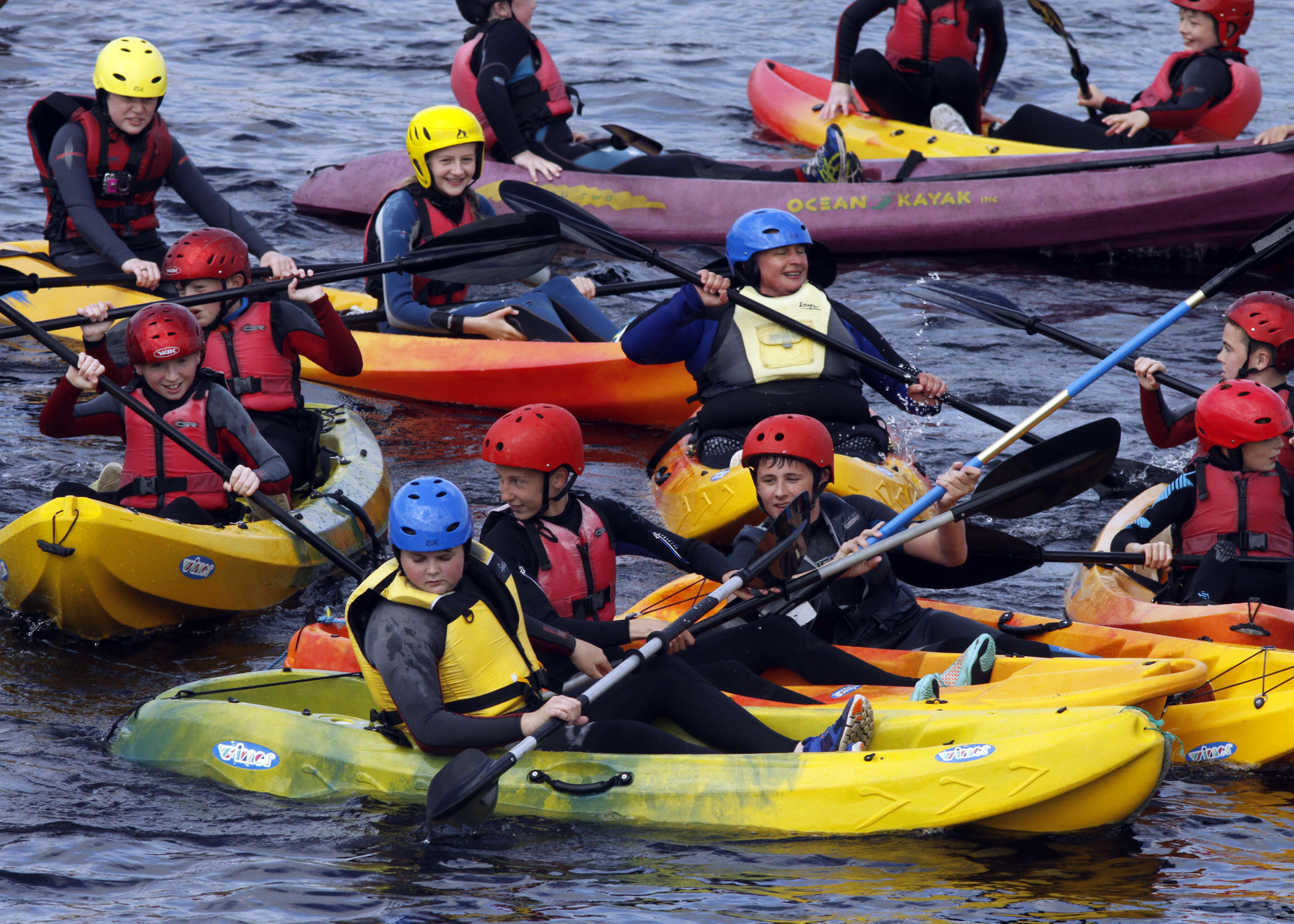 Birthday Group Outings - Limerick Kayaking now voted No.1 fun things to do in Limerick City