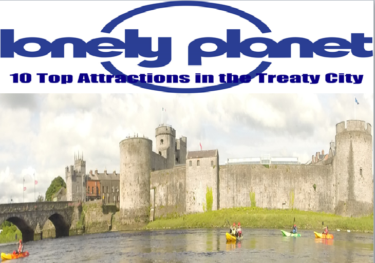Nevsail Voted Lonely Planets Top 10 Attractions for Kayaking Limerick City