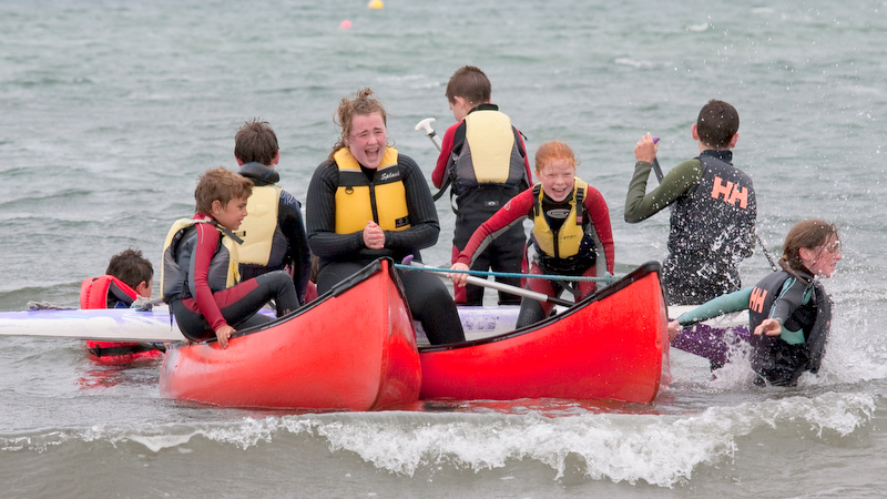 Huge smiles and laughs on our kilkee School Tour Outings