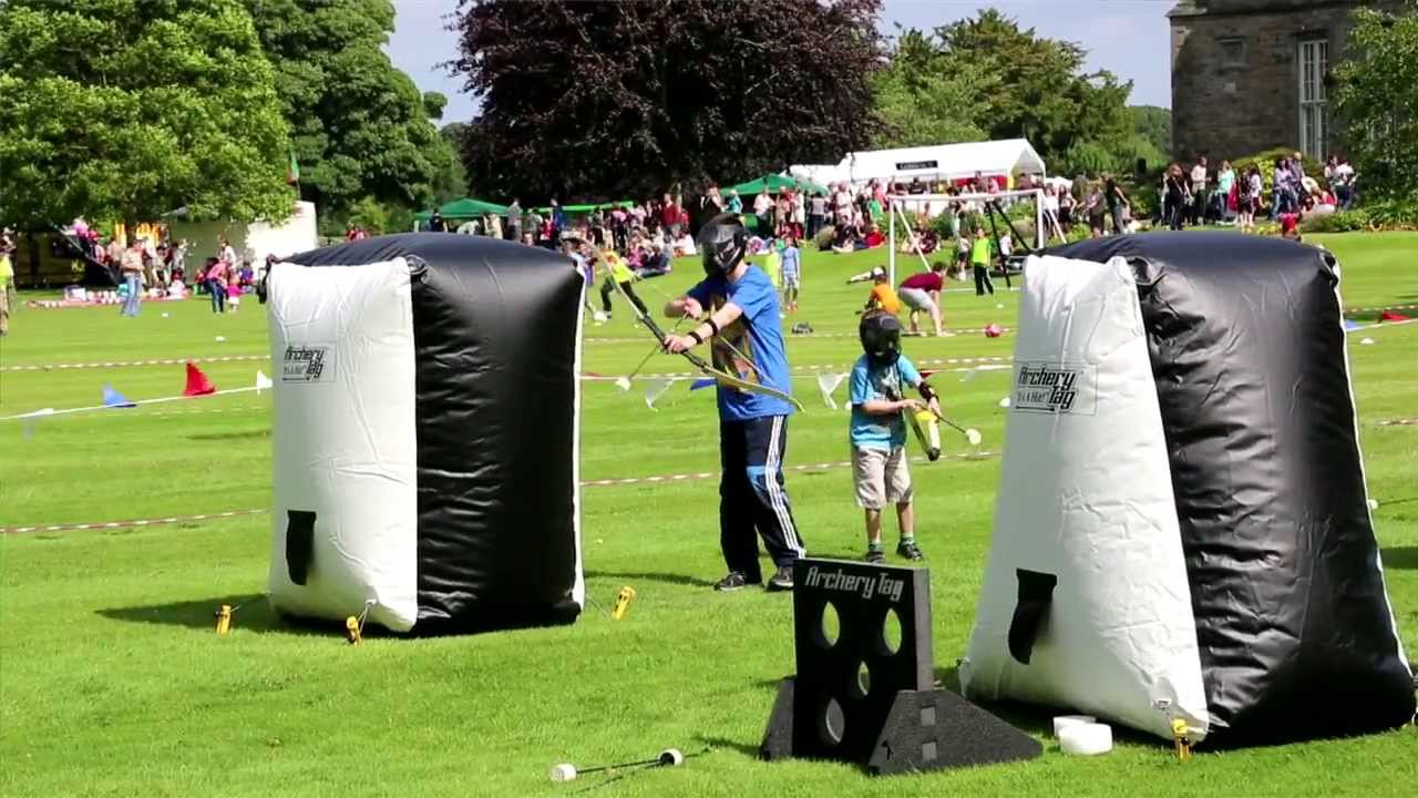 Archery Tag Limerick at Nevsail