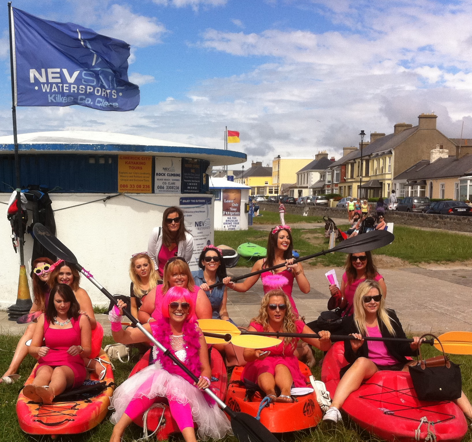 Hen night Team Building Activities with Nevsail in Kilkee, Clare