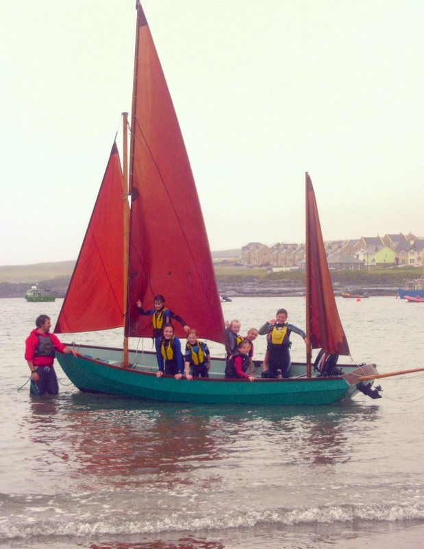 Nevsail School Tours allow pupils to get active outdoors